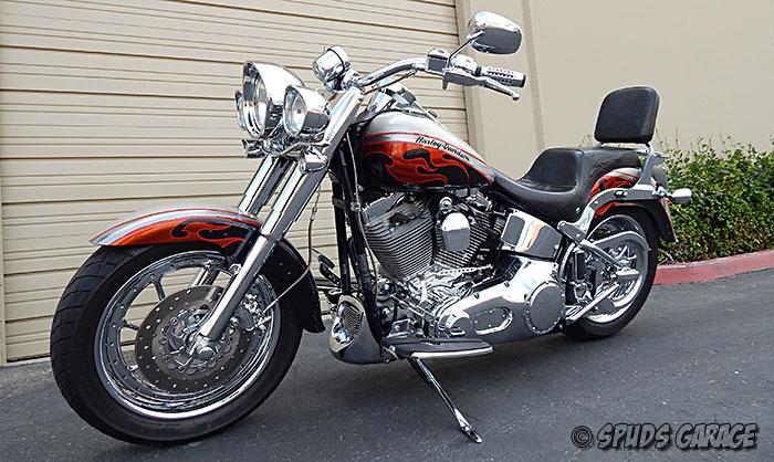 Harley Davidson Fatboy Screamin Eagle 06 2006 Cvo
