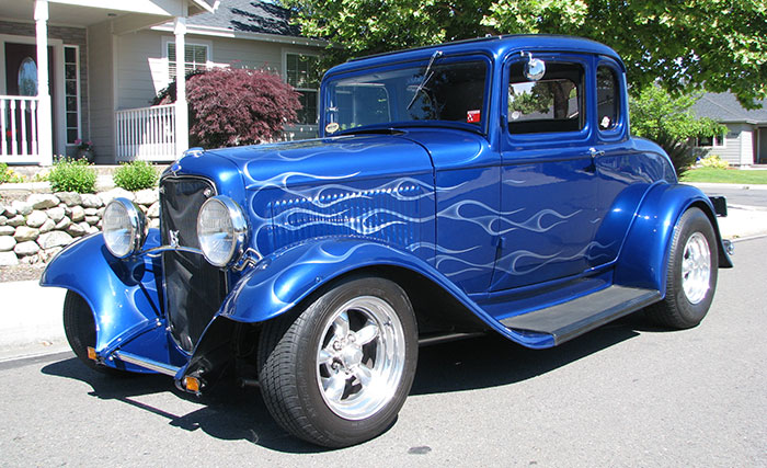 Spud 39 s garage 1932 ford 5w coupe for 32 ford 5 window coupe
