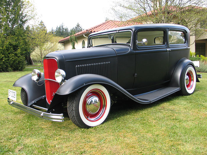 Spud 39 s garage 1932 ford tudor for 1932 ford 2 door coupe