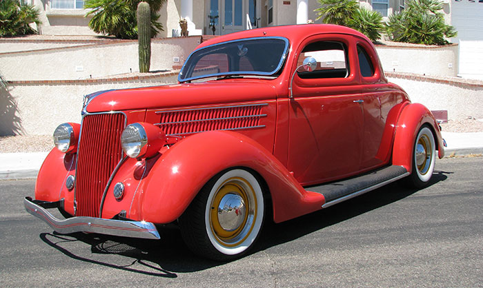 Spud S Garage 1936 Ford 5 Window Coupe