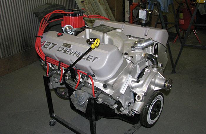 spud 39 s garage gm 427 crate engine 117 of 427 produced. Black Bedroom Furniture Sets. Home Design Ideas
