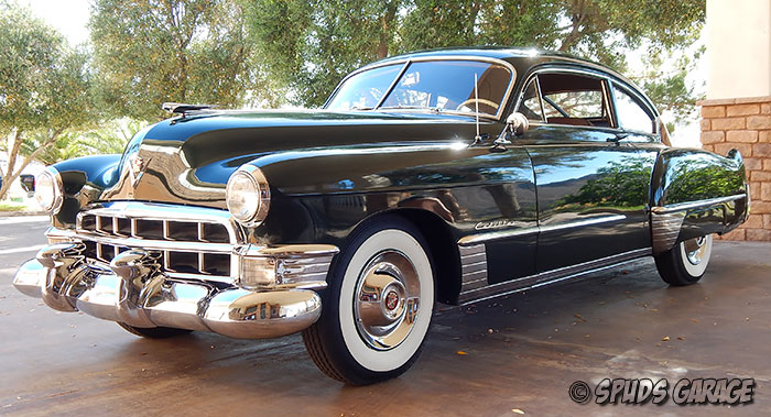 Spud's Garage - 1949 Cadillac Series 6207 Fastback Club Coupe - For