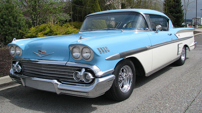 58 Chevy Impala Sport Coupe Html Autos Post