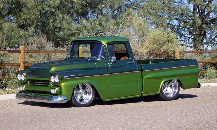 Spud's Garage - 59 Chevy Apache