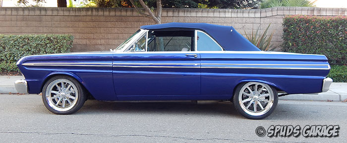 Spud's Garage - 1965 Ford Falcon Conv - For Sale