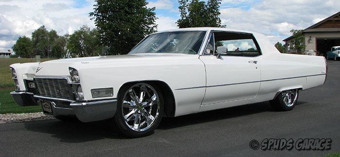 Spud's Garage - 1968 Cadillac Coupe Deville - For Sale