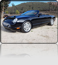 2002 Ford T-Bird So-Cal