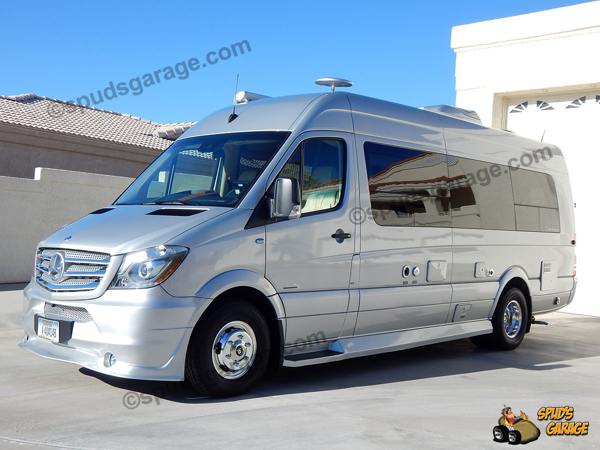 spud 39 s garage 2016 mb sprinter midwest weekender rv conversion for sale. Black Bedroom Furniture Sets. Home Design Ideas