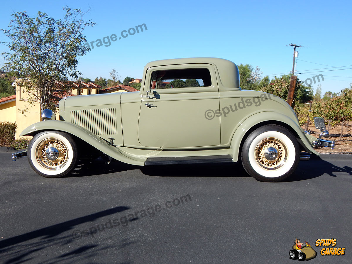 Spud 39 s garage 1932 ford 3 window coupe street rod for sale for 1932 ford three window