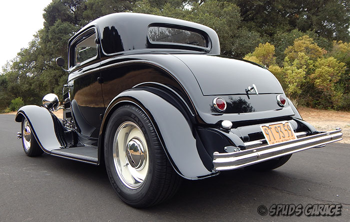Spud 39 s garage 1932 ford 3 window coupe henry steel for for 1932 ford 3 window coupe chassis
