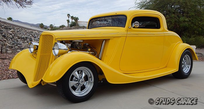Spud 39 s garage 1933 ford 3 window coupe street rod for Garage ford 33