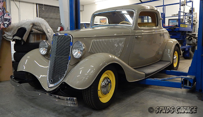 spud 39 s garage 1933 ford 3w coupe for sale