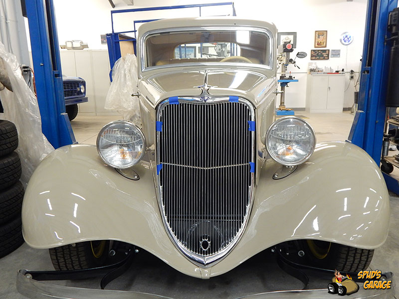 1933 ford 3 window coupe factory for Garage ford 33