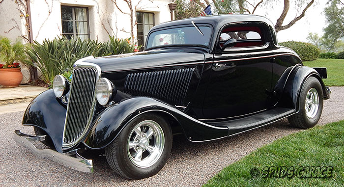 Spud 39 s garage 1934 ford 3w coupe for sale for 1934 ford three window coupe for sale
