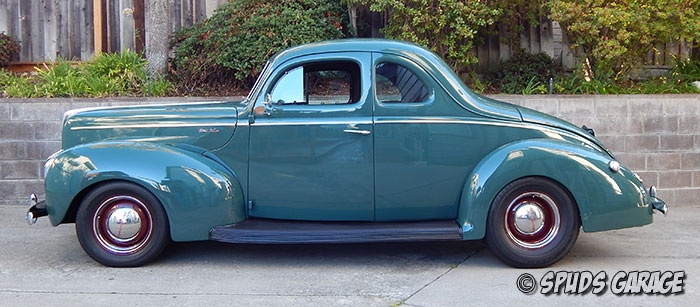 Spud S Garage 1940 Ford Coupe For Sale
