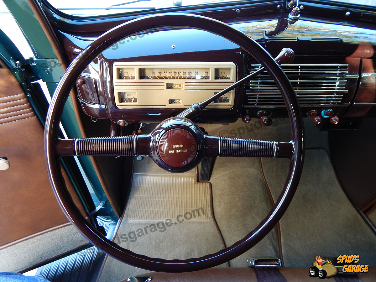 Spud's Garage - 1940 Ford Coupe - For Sale