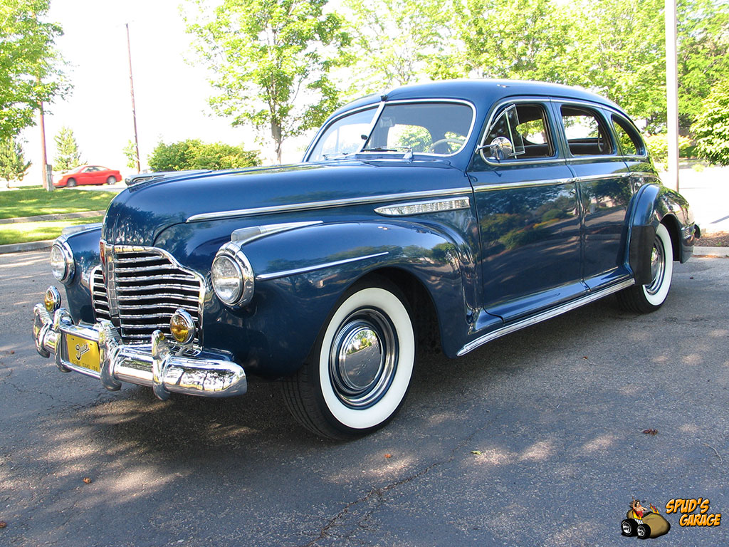 Spud 39 s garage 1941 buick special sedan for sale for 1941 buick 4 door sedan