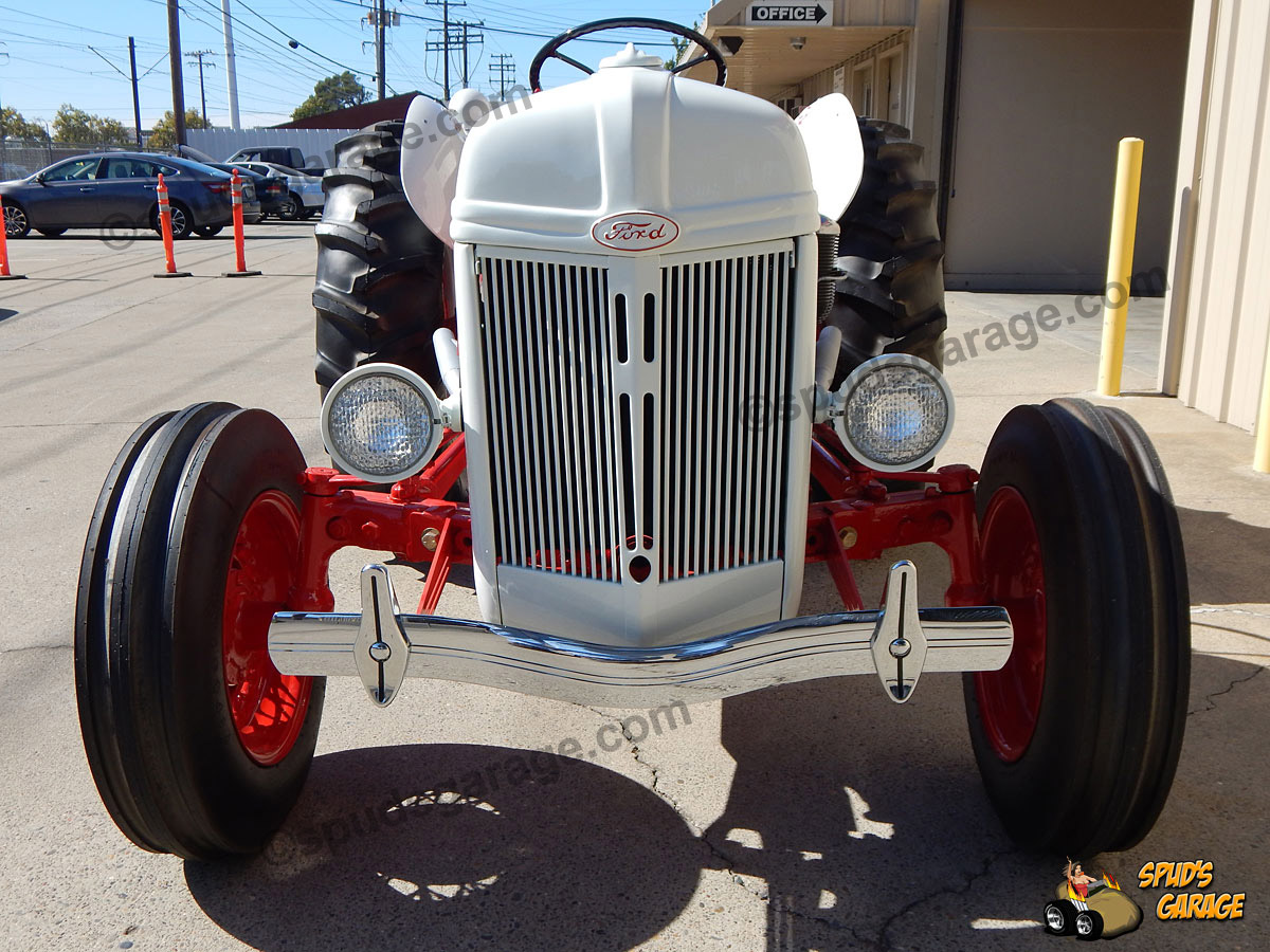 Spuds Garage 1952 Ford 8n Tractor V8 Conversion For Sale Detail Photos