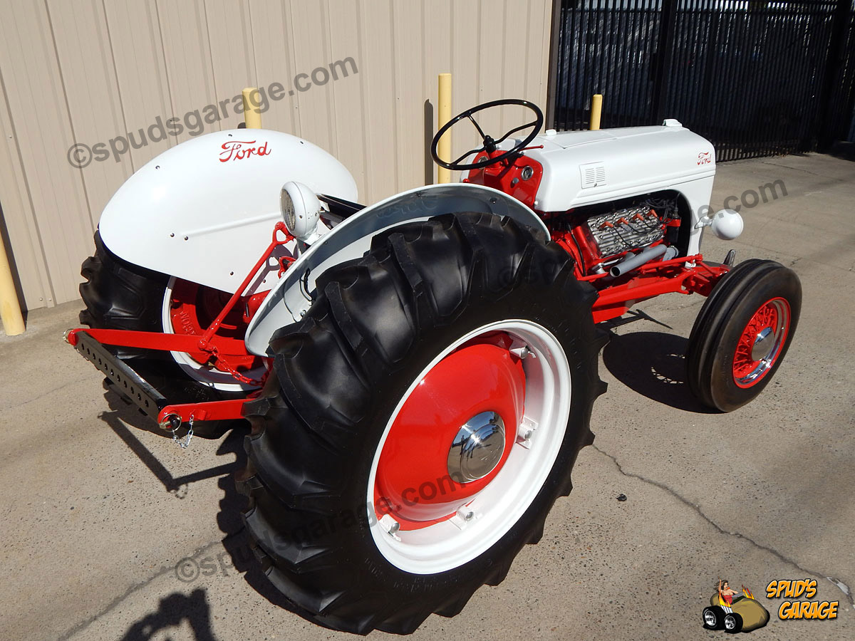 Spud 39 s garage 1952 ford 8n tractor v8 conversion for sale for 8n ford tractor motor for sale