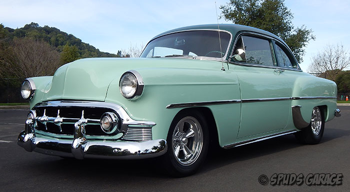 Spud S Garage 1953 Chevy Club Cpe For Sale