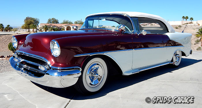 Spud S Garage 1955 Olds 88 Custom For Sale