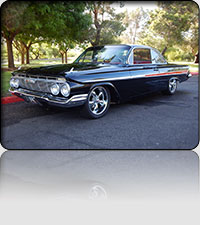 1961 Chevy Bubble Top