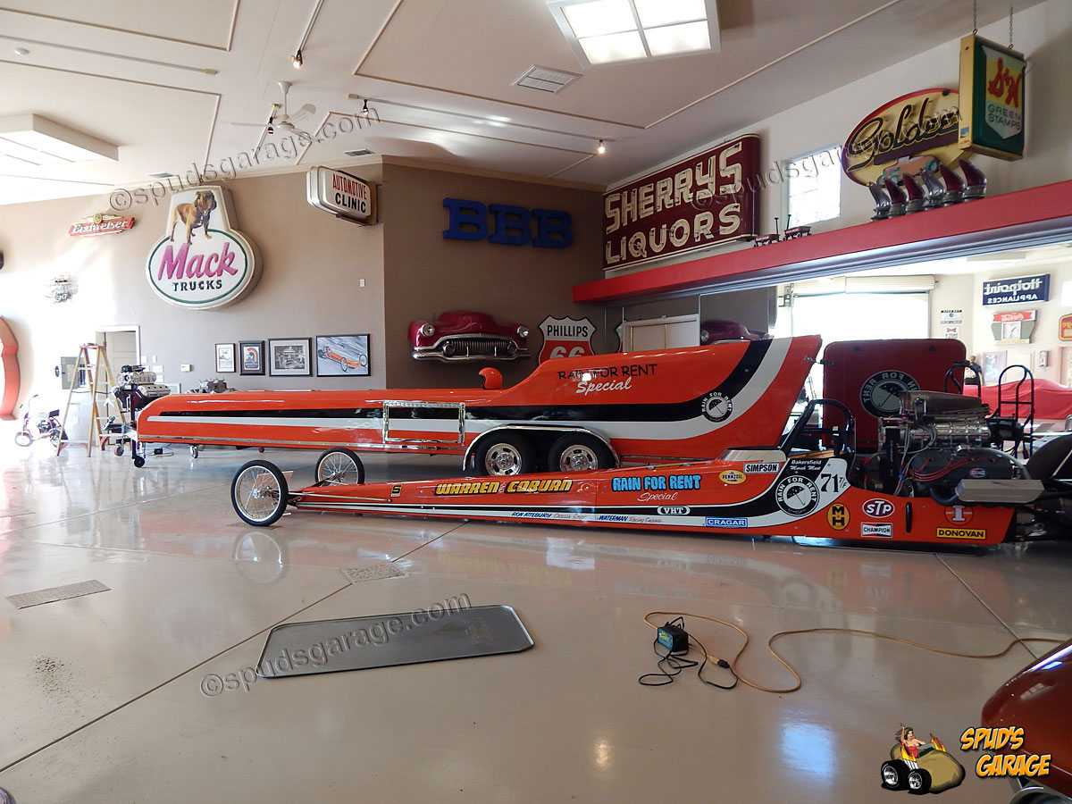 Spud 39 s garage historic top fuel dragster for sale for Garage energy automobiles
